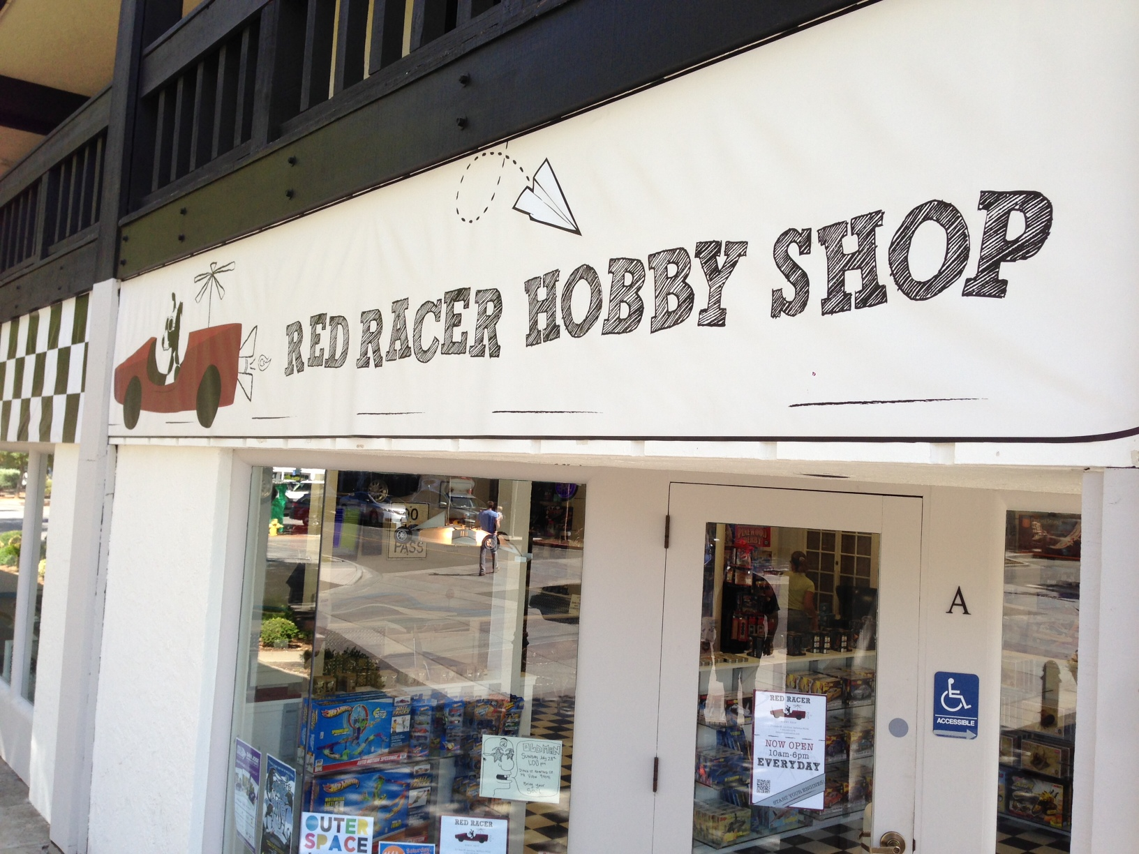 red racer hobby shop